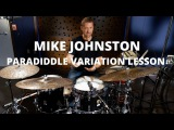 Meinl Cymbals - Mike Johnston - Paradiddle Variation Lesson
