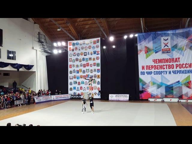 Cheerleading Партнерский стант Жуков Дмитрий Бутовская Анна