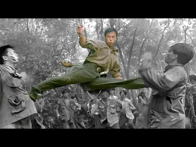 Донни Йен (странник) резня в лесу   Donnie Yen (wanderer) massacre in the forest