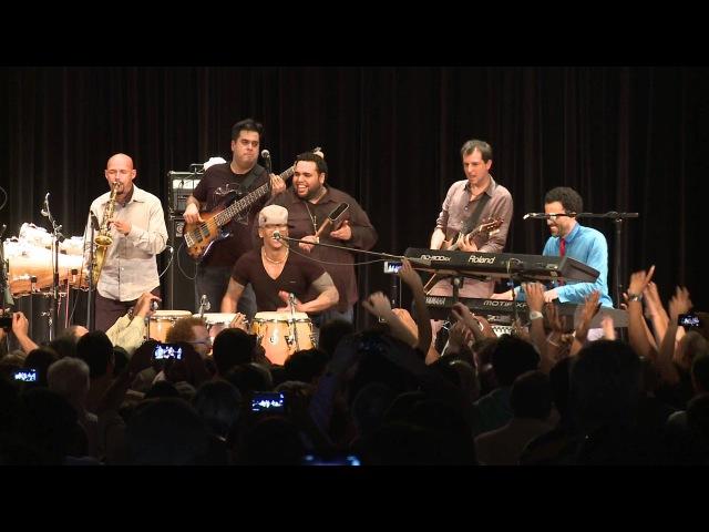 Pedrito Martinez group con Miguel Zenón y Juancho Herrera en el PJF15