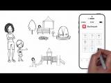Рекламный ролик мобильного приложения