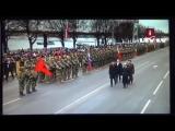 Рига. 18 ноября, 2017. Военный парад.