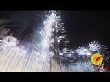Новогодний салют в Дубаи