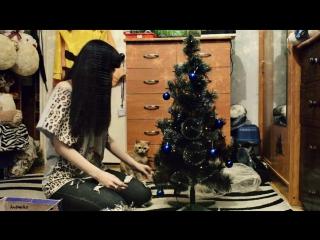 Наряжаем елку | Котейка помогает | Andomiku