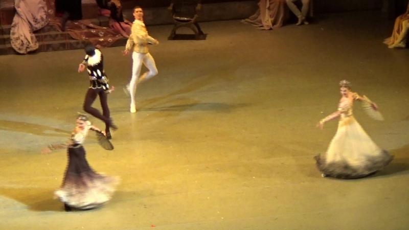 ЛО. Выход Одиллии. Испанский танец.