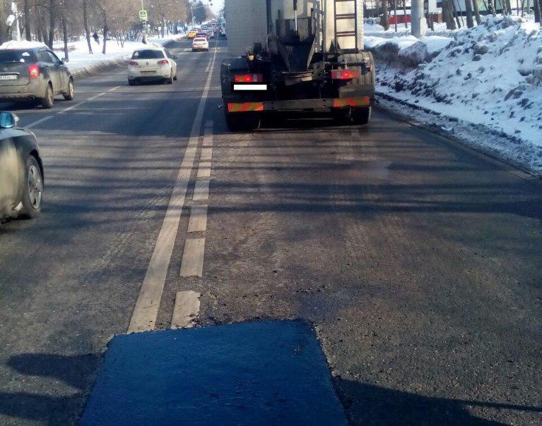 Асфальт отремонтировали на участке Череповецкой улицы