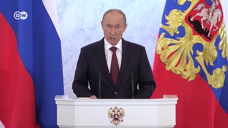 Обещания Путина шесть лет назад