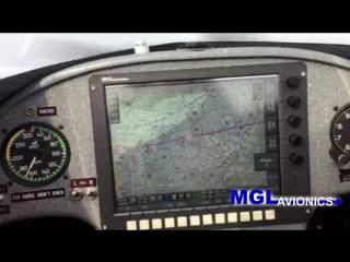 Rob Holland showcases the MGL Avionics panel in his MXS-RH