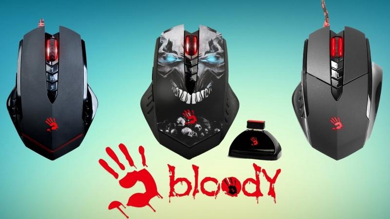 [Новинки IT, Обзоры компьютерной техники и периферии] A4Tech Bloody V7, V8, R8 Обзор трех моделей.