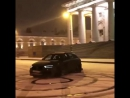 Дрифт-шоу на Audi у Биржи в Питере