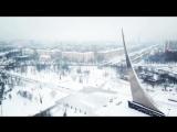 Северо-восток засыпает снегом...