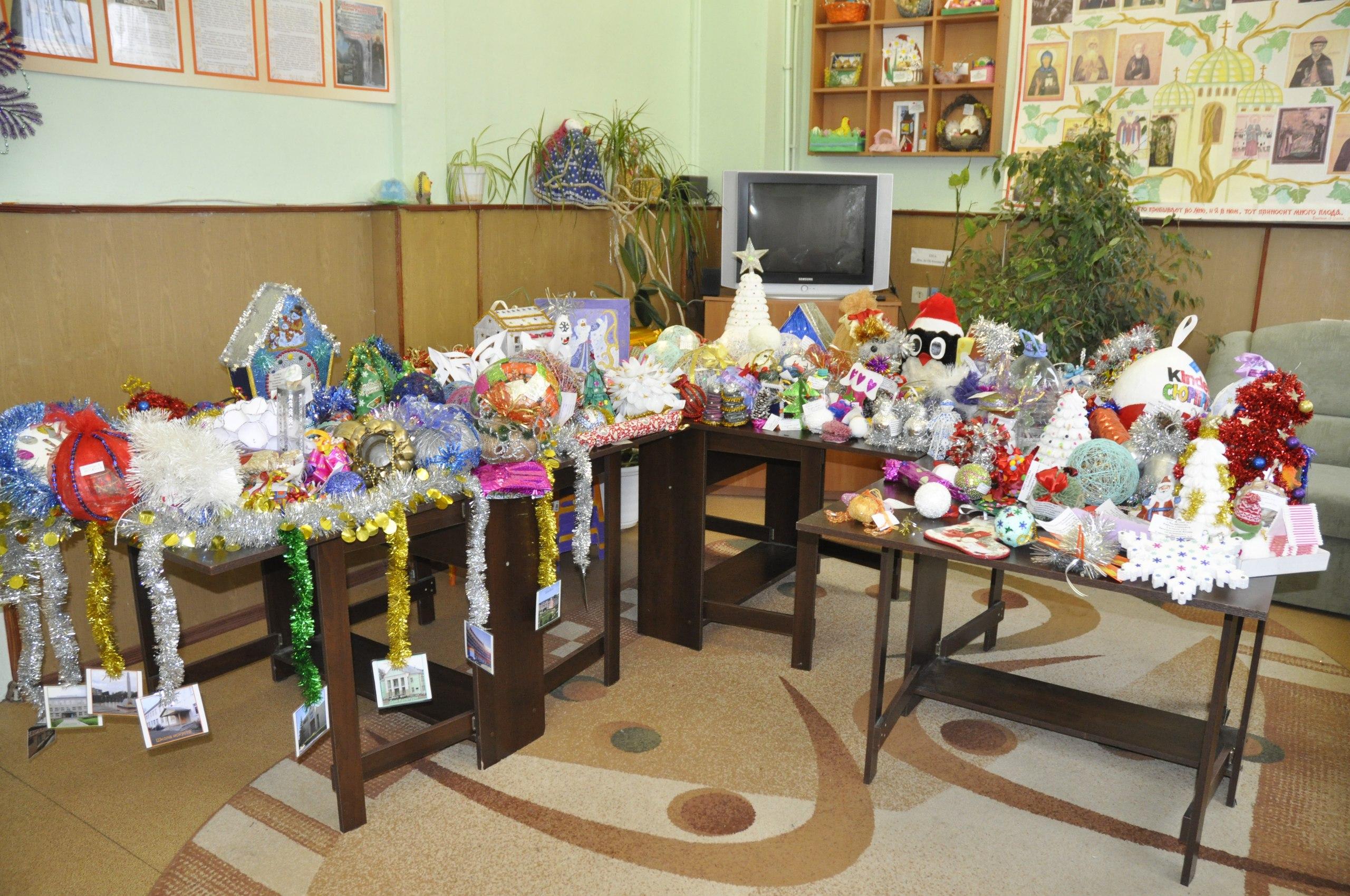 В филиале СРЦН «Ориентир» подвели итоги конкурса новогодней игрушки