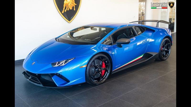 Design Build of a 2018 Lamborghini Huracán Performante LP640-4 Coupé in Grigio Titans 4K