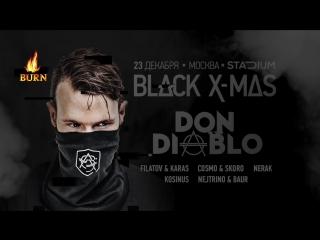 Don Diablo приглашает на Black X-mas в Москве