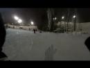 Моё первое катание на сноуборде =)