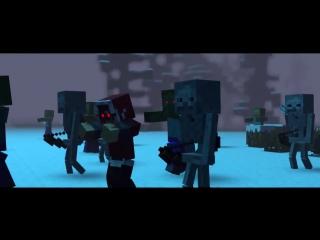 'The Struggle' - A Minecraft Original Music Video ♫_HD.mp4