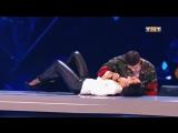 Виталий Уливанов и Саша Горошко (Танцы на ТНТ, 23.12.17 танго)