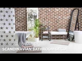 Scandinavian bathroom deco