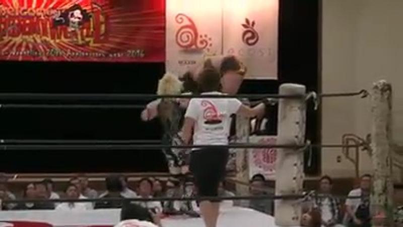 4. Hiroyo Matsumoto vs. Tsubasa Kuragaki (5/1/16)