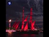 Световое и пиротехническое шоу на Алых парусах-2017