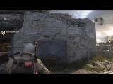 Как выглядит место для перерыва между матчами в Call of Duty: WWII.