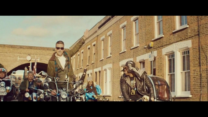 Dizzee Rascal Robbie Williams Goin Crazy