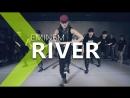 Viva dance studio River - Eminem (ft. Ed Sheeran)  Jane Kim Choreocraphy .