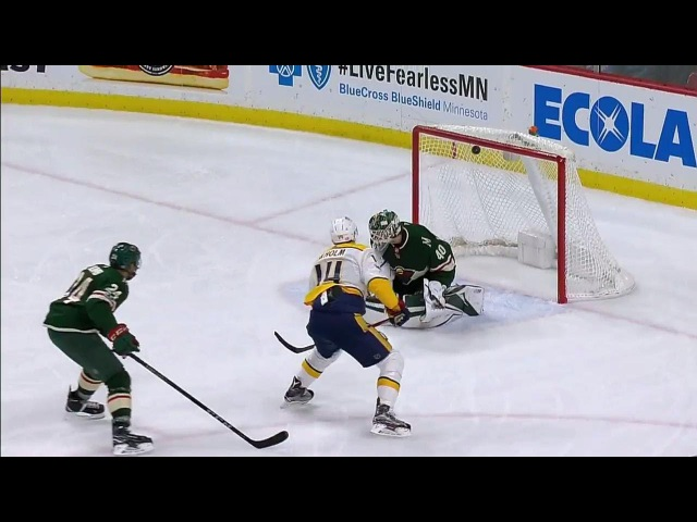 Ekholm streaks in for short-hander against Wild