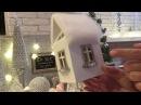 Домик своими руками Новогодний декор DIY Christmas decor