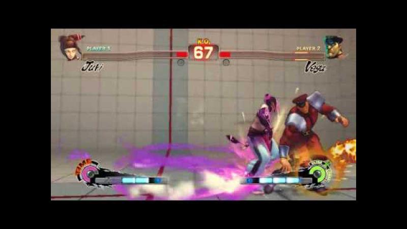 Super Street Fighter 4 - Juri Ultra 1 Feng Shui Engine