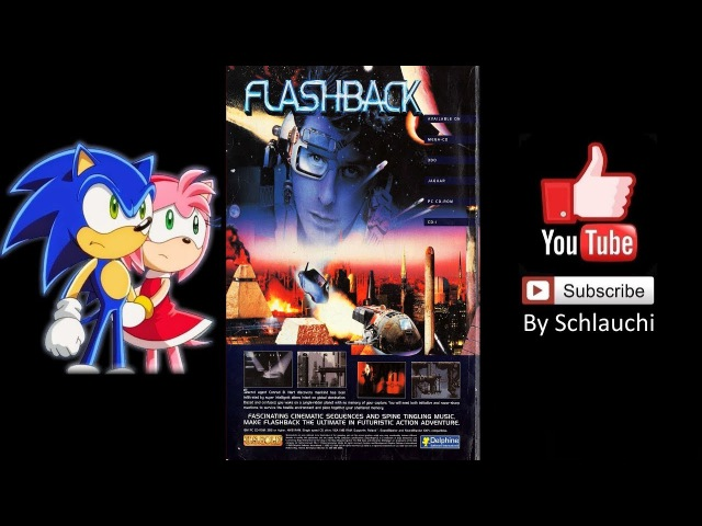 Flashback (Sega CD 1993) Walkthrough By Schlauchi