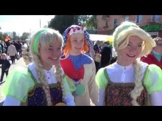 Праздничные гуляния на день города в Лосино-Петровском