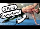 Best V-Cut Abs Exercises (At Home!)