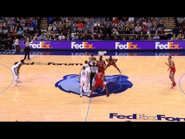Обзор НБА Мемфис Гриззлиз – Хьюстон Рокетс 19.11.17