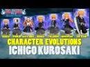 Character Evolution Ichigo Kurosaki Bleach Brave Souls
