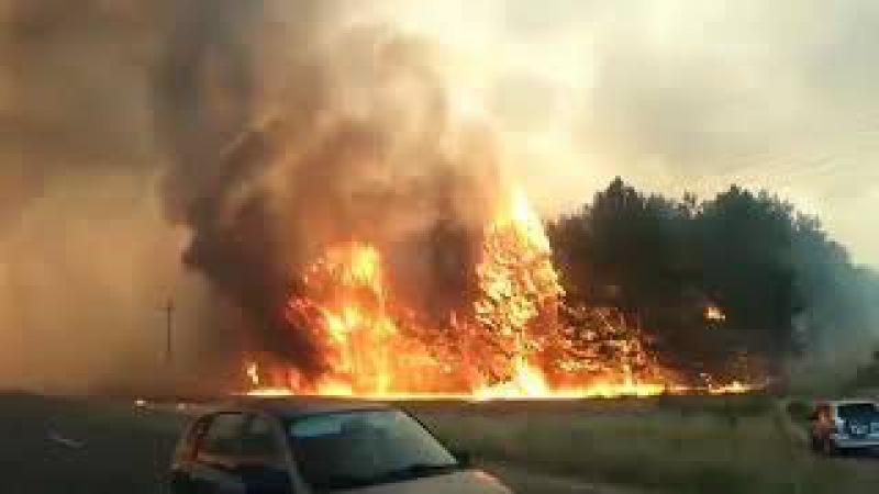 Пожар в Каменске-Шахтинском 15.08.2017