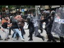 Catalan referendum hundreds injured as police attack protesters