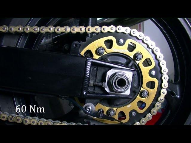 Suzuki GSF 1250 Bandit - wymiana zestawu napędowego.