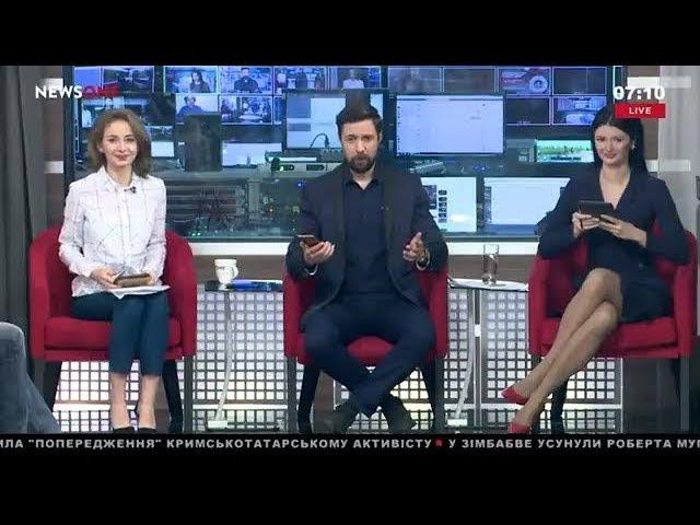 Какова вероятность того что Саакашвили может возглавить Кабмин УТРО на NewsOne 20 11 17