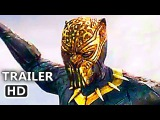 BLACK PANTHER Trailer # 2 (2018) Michael B. Jordan, New Marvel Superhero Movie HD