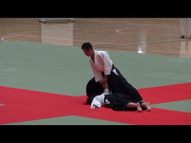 第62回演武会 養神館 乗木先生 -2017 Demo Yoshinkan Noriki sensei