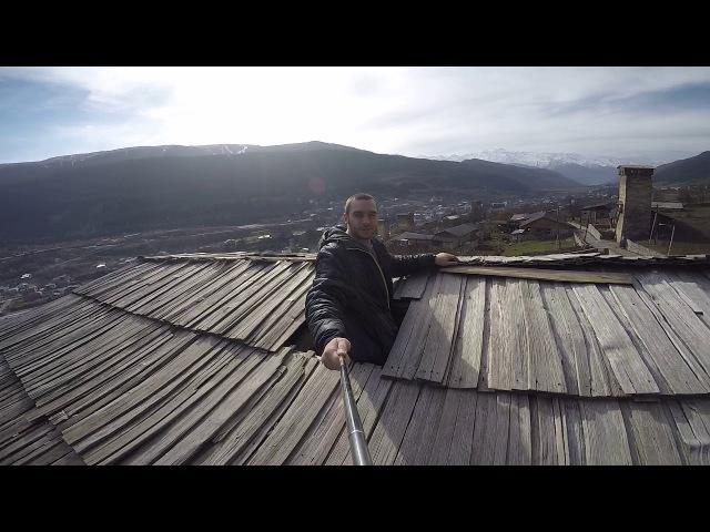 На вершине башни Сванети город Местиа