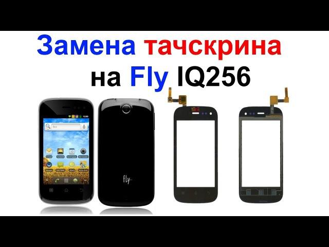 Замена тачскрина (сенсора) на Fly IQ256 Самоделкин
