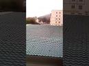 На стройке в Охе произошел пожар