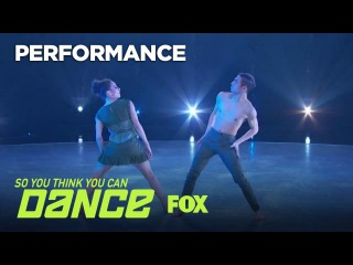 Lex & Gaby's Contemporary Performance | Season 14 Ep. 11 | SO YOU THINK YOU CAN DANCE