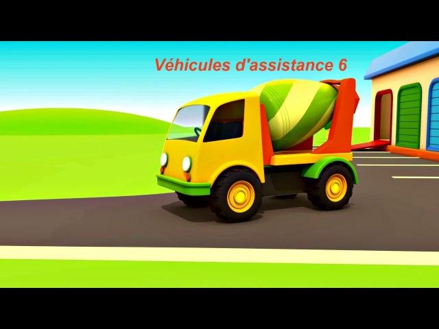 Dessin animé en français pour enfants de VÉHICULES D'ASSISTANCE épisode 6 Helper cars 🚒 🚜 🚑