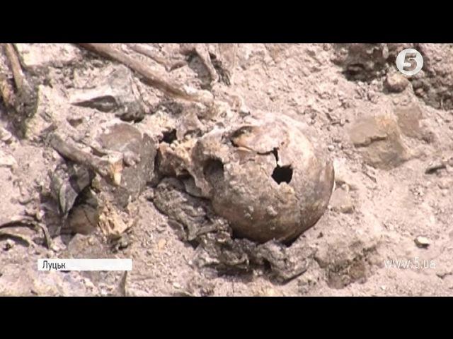 Розстріляли і закидали гранатами У Луцьку знайшли останки розстріляних в'язнів