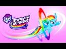 Улучшенные способности Флаттершай расскрашиваем Понивилль My Little Pony Радужные гонки Мульт игра