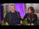 John Hurt and Jenna Coleman on The Day of the Doctor - The One Show 20 November 2013