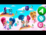Sticker Pictures Shimmer and Shine Dora and Friends Learn ABC Gameplay funny animated cartoon kid